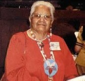 Onandaga Clan Mother Audrey Shenandoah