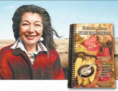 Marietta King. Author of Native American: Food is Medicine: Alternative Choices and Cookbook for the Prevention and Control of Diabetes .